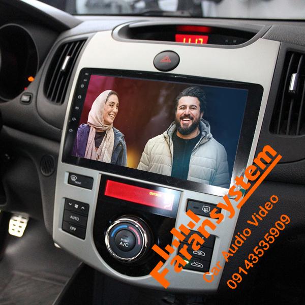 مانیتور اندروید سراتو FLYDYT مدل DYT9000 سری پد با گارانتی شرکت وینکا قابل نصب بر روی انواع خودرو با تعویض فرم های مختلف